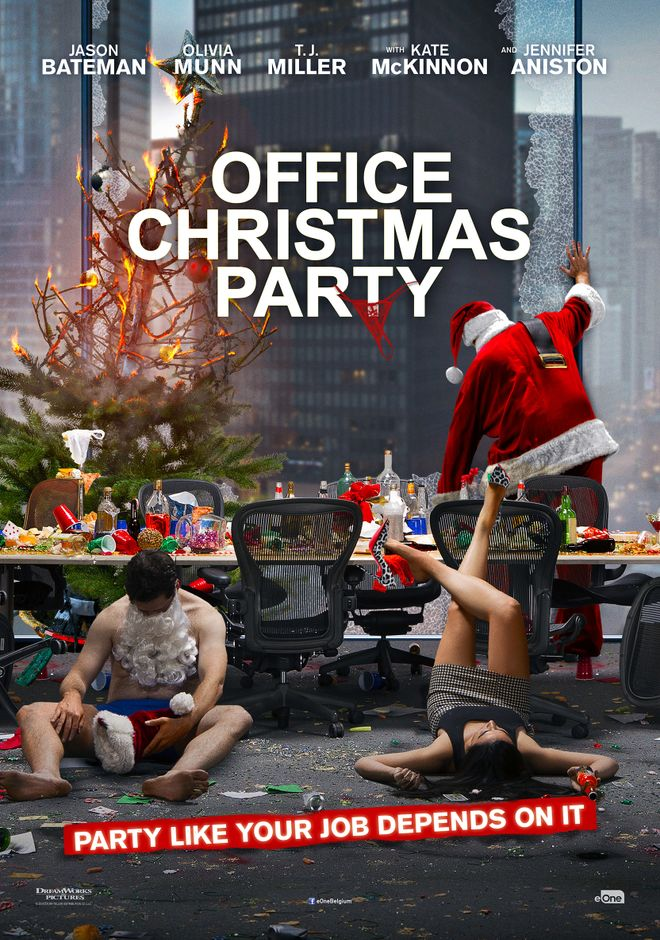 christmas party movie cast