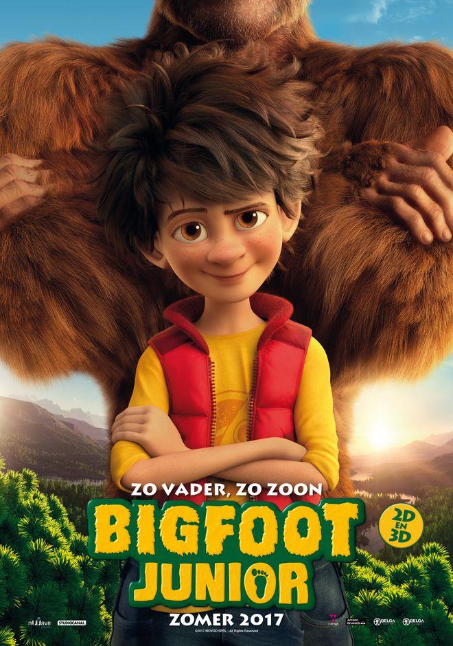 bigfoot junior movie 2017 ben stassen j r mie degruson. Black Bedroom Furniture Sets. Home Design Ideas