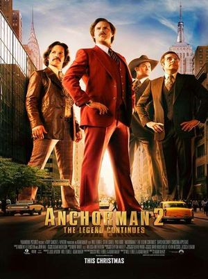 Anchorman 2 - Comedy