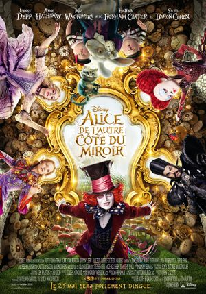 Alice Through the Looking Glass - Family, Fantasy, Adventure