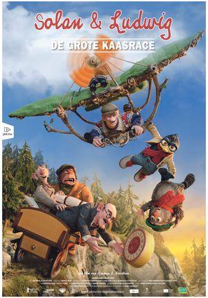 Louis & Luca : The Big Cheese Race (Solan og Ludvig: Herfra til Flåklypa) - Family, Animation (modern)