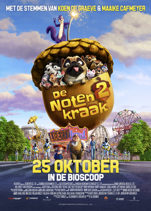 The Nut Job 2 : Nutty by Nature - Animation (modern)