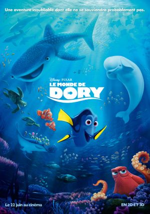 Le Monde de Dory - Animation