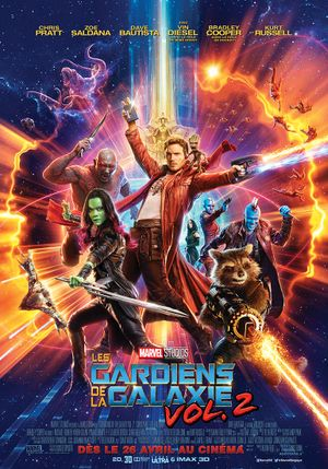 Guardians of the Galaxy Vol. 2 - Action, Science-Fiction, Comédie