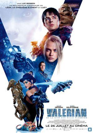 Valerian et la Cité des mille planètes - Action, Science-Fiction, Aventure