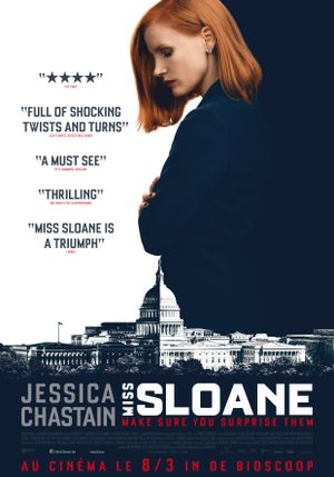 Miss Sloane - Thriller, Drame
