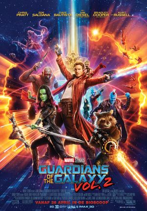 Guardians of the Galaxy Vol. 2 - Actie, Science-Fiction, Komedie