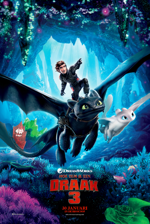 How to train your Dragon 3 - Familie, Animatie Film