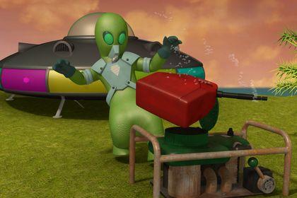 Brandweerman Sam: UFO Alarm - Photo 5