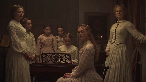 Les proies (The Beguiled) - First rushes