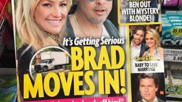 Helpt Kate Hudson Brad Pitt over zijn liefdesverdriet? - Actueel