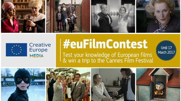 Win een trip naar filmfestival Cannes met #EuFilmContest - Actueel