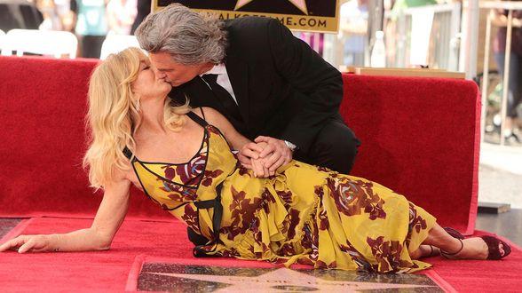 Goldie Hawn en Kurt Russell krijgen elk Hollywoodster - Actueel