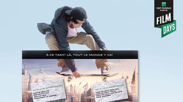 10de editie van de BNP Paribas Fortis FILM DAYS - Actueel
