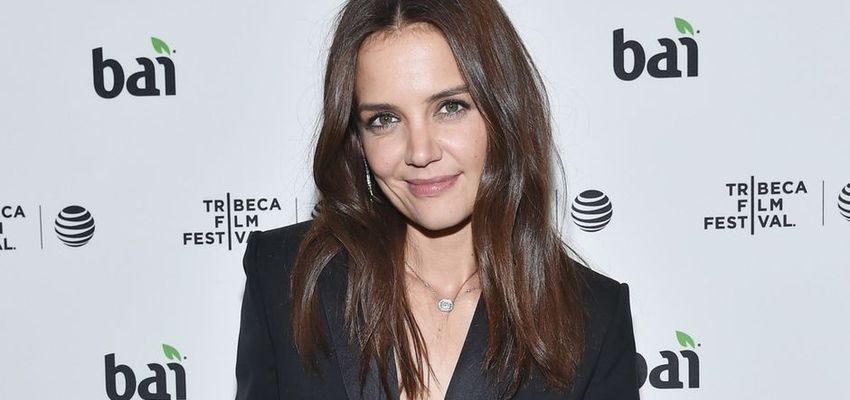 Katie Holmes presenteert eerste film in New York