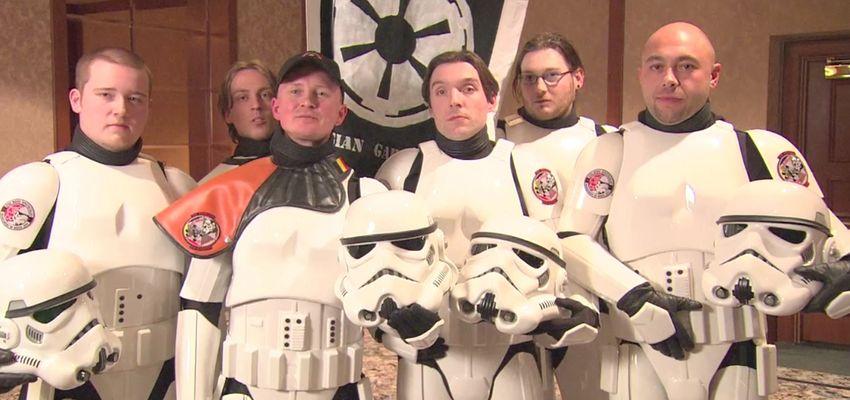 Star Wars-sterren op bezoek in een door Belgen gebouwde filmset