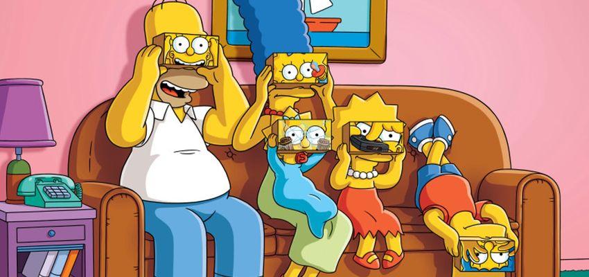 The Simpsons vieren zeshonderdste aflevering met drie minuten Virtual Reality