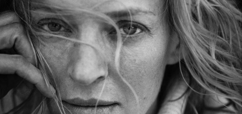 Nicole Kidman en Uma Thurman poseren voor nieuwe Pirelli-kalender