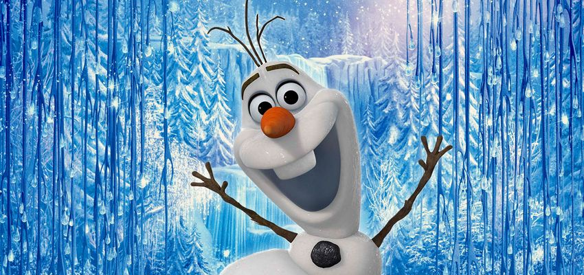 Vier Kerst met Olaf!